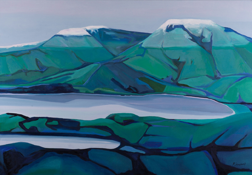 Winter Hint, by Rachel Campbell at Craven Allen Gallery