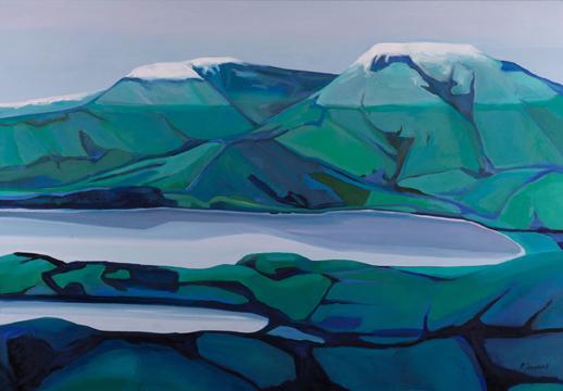 Winter Hint, by Rachel Campbell at Craven Allen Gallery