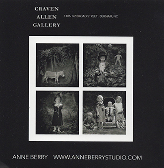 ANNE BERRY: APRIL IS THE CRUELEST MONTH AT CRAVEN ALLEN GALLERY