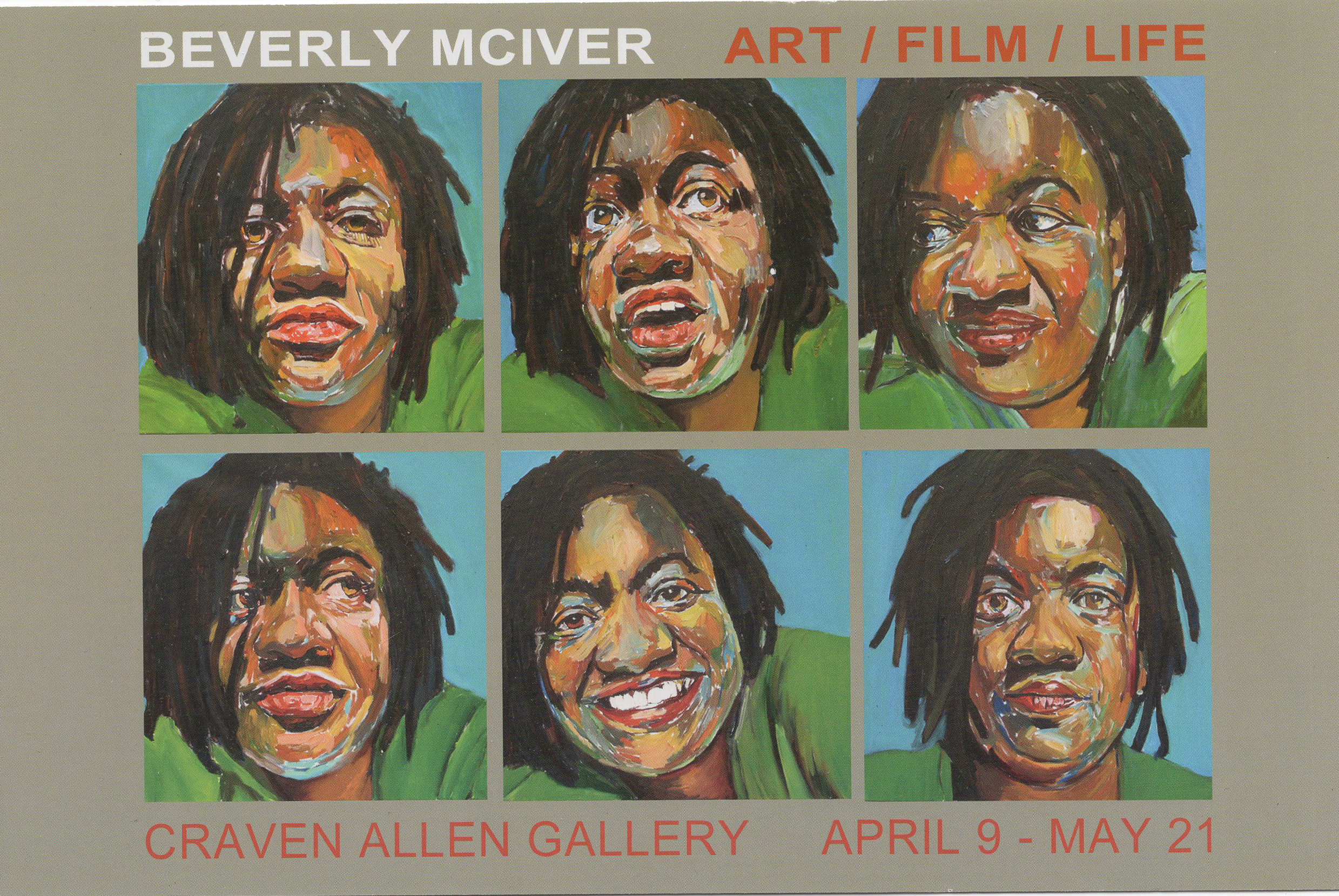 BEVERLY MCIVER: ART/FILM/LIFE