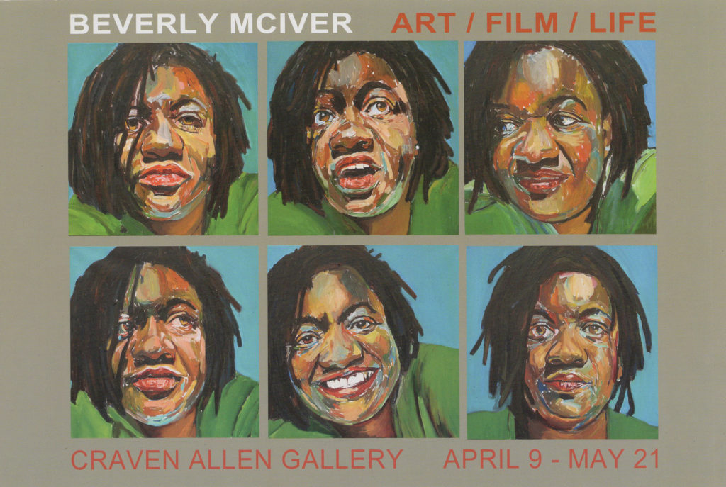 BEVERLY MCIVER: ART/FILM/LIFE AT CRAVEN ALLEN GALLERY