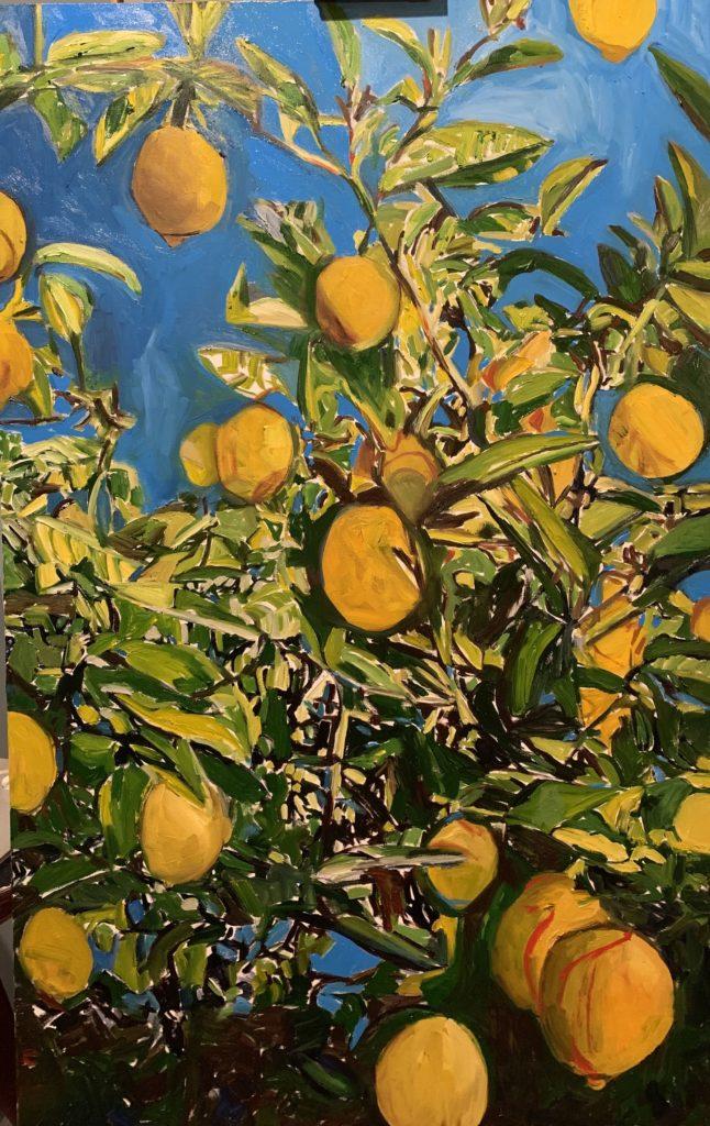 Lemons Tree by Beverly McIver