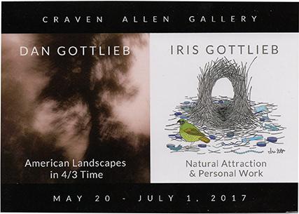DAN GOTTLIEB and IRIS GOTTLIEB at Craven Allen Gallery, ncma, illustrator, animator, author
