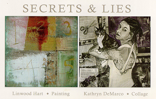 KATHRYN DEMARCO & LINWOOD HART:  SECRETS & LIES AT CRAVEN ALLEN GALLERY