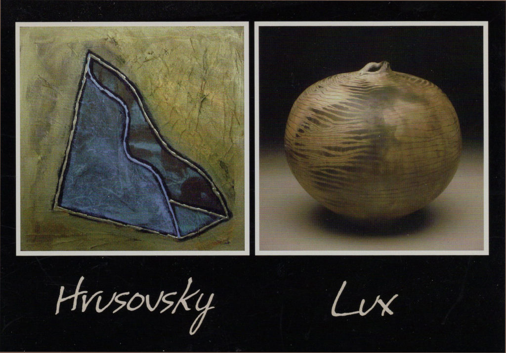 PAUL HRUSOVSKY and JIM LUX: NEW WORK at Craven Allen Gallery