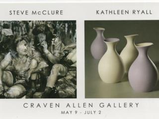 STEVE MCCLURE & KATHLEEN RYALL AT CRAVEN ALLEN GALLERY