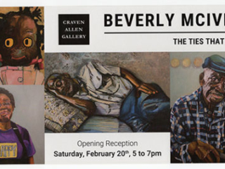 BEVERLY MCIVER: THE TIES THAT BIND at Craven Allen Gallery with Duke University Painting Students