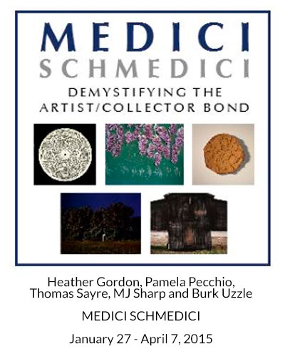 MEDICI SCHMEDICI AT CRAVEN ALLEN GALLERY, HEATHER GORDON, PAMELA PECCHIO, THOMAS SAYRE, MJ SHARP, BURK UZZLE