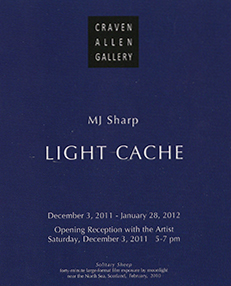 MJ SHARP: LIGHT CACHE
