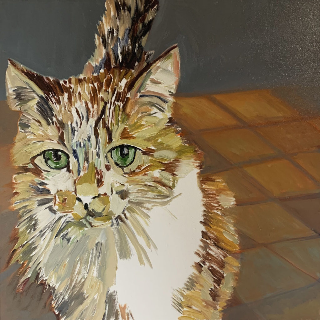 Kitty II by Beverly McIver