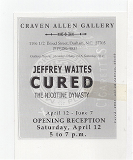 JEFFREY WAITES: CURED