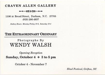 WENDY WALSH: THE EXTRAORDINARY ORDINARY