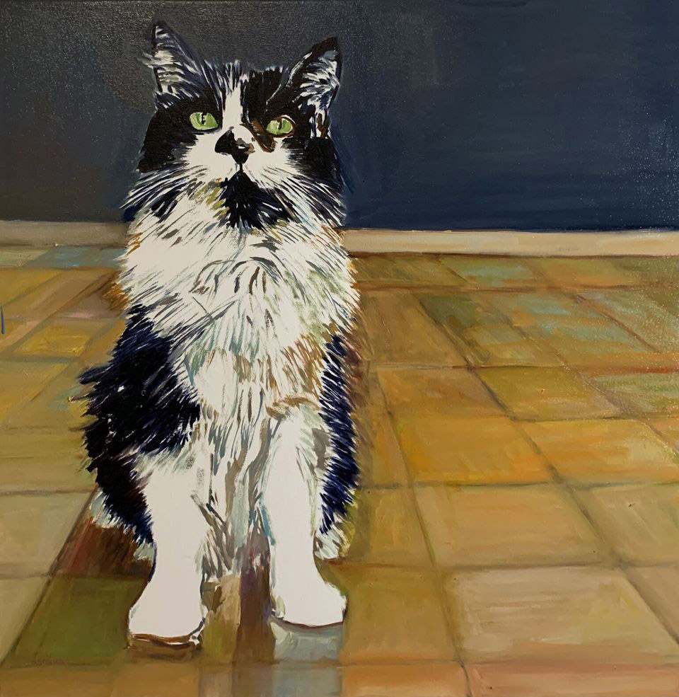 Kitty  by Beverly McIver
